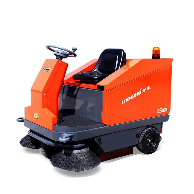 LS833駕駛式掃地機