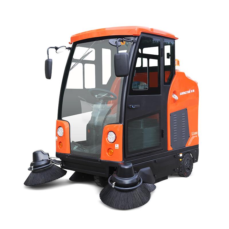 LS880封閉式清掃車