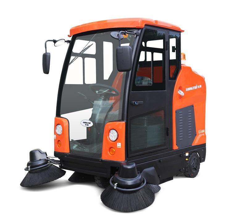 LS880封闭式清扫车